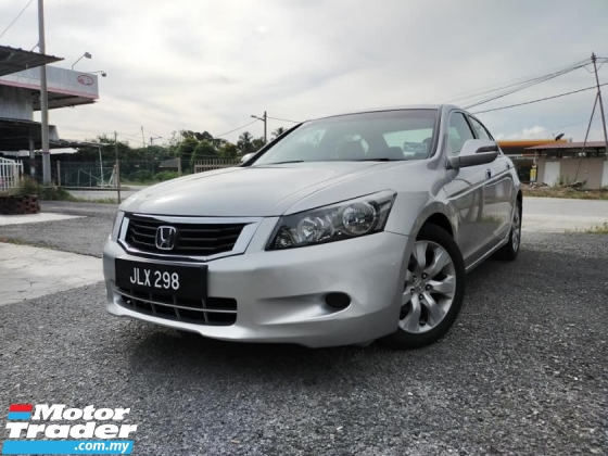 2009 HONDA ACCORD 2.4 VTI-L (A) High Spec 1 Owner B-B-BIG OFFER