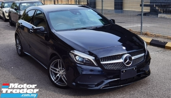 2016 MERCEDES-BENZ A-CLASS 2016 MERCEDES BENZ A180 SE 1.6 TURBO SPORT DYNAMIC MODE JAPAN SPEC CAR SELL PRICE ONLY RM 149000.00