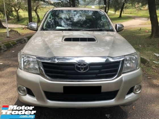 2013 TOYOTA HILUX 3.0G (AT) VNT FACELIFT INTERCOOLER LEATHER