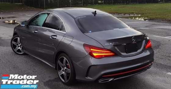 2017 MERCEDES-BENZ CLA 2017 MERCEDES BENZ CLA 250 2.0 AMG SPORT  UNREG JAPAN SPEC CAR SELLING PRICE ONLY RM 219000.00
