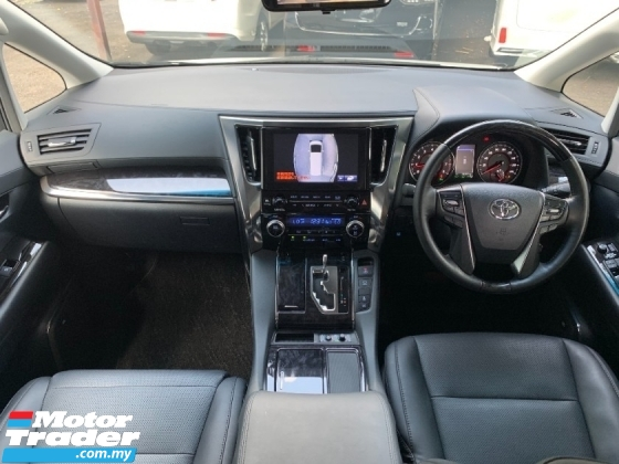 2018 TOYOTA VELLFIRE 2.5 ZG FULL SPEC (BIG PROMOTION) JBL HOME THEATRE 360 CAMERA LKA PILOT SEATS POWER DOOR UNREG