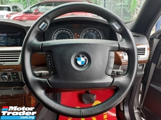 2007 BMW 7 SERIES Bmw 730Li 3.0 SUNROOF P/BOOT PERFECT COND WARRANTY