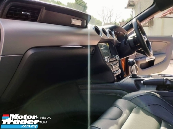 2018 FORD MUSTANG 50 GT RICARO EDITION UK