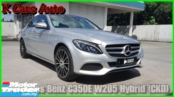 2017 MERCEDES-BENZ C-CLASS C350e 2.0 Hybrid Warranty Until 2022 OTR PRICE