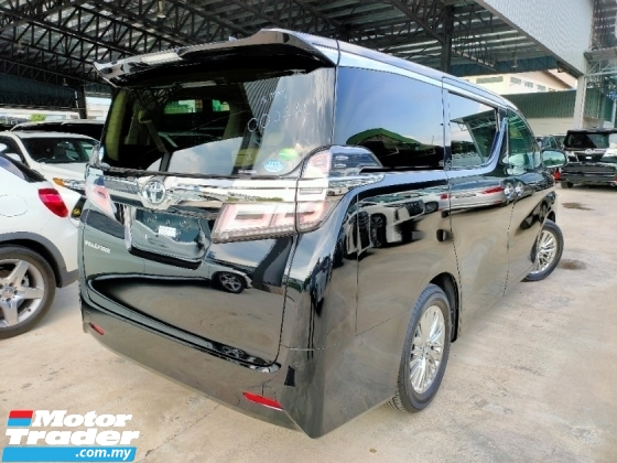 2018 TOYOTA VELLFIRE 2.5 V Demo Car Full Spec SR JBL Theatre 4Cam Offer