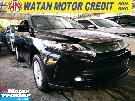2018 TOYOTA HARRIER 2.0 PREMIUM UNREG.TRUE YEAR CAN PROVE.HALF SST.POWER BOOT.360 CAMERA.PRE CRASH N ETC.LED LIGHT.