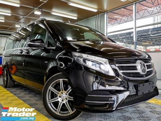 2015 MERCEDES-BENZ V-CLASS Mercedes Benz V250 VITO 2.1 BLUTEC AVTGARDE LONG/W