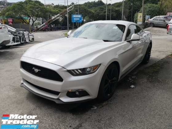 2018 FORD MUSTANG 2.3 Eco Boost Coupe Inc SST Unreg