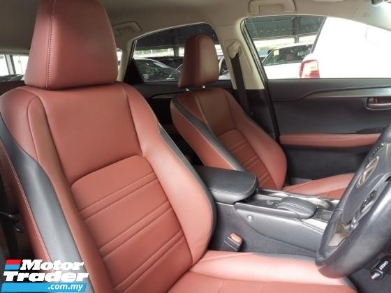2017 LEXUS NX 200T Urban Style Unreg Offer Sale