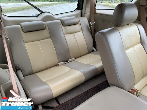2010 TOYOTA RUSH 1.5 G (A) LEATHER SEAT/ 7 SEAT