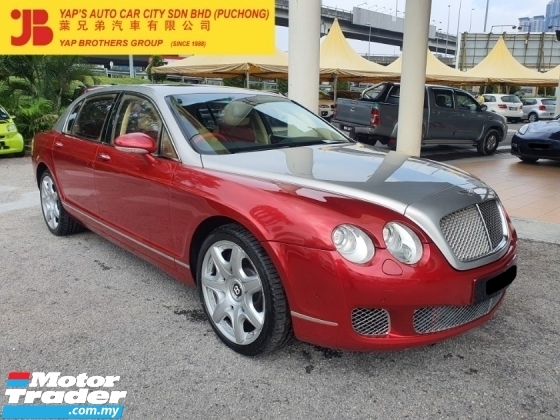 2006 BENTLEY CONTINENTAL FLYING SPUR 6.0