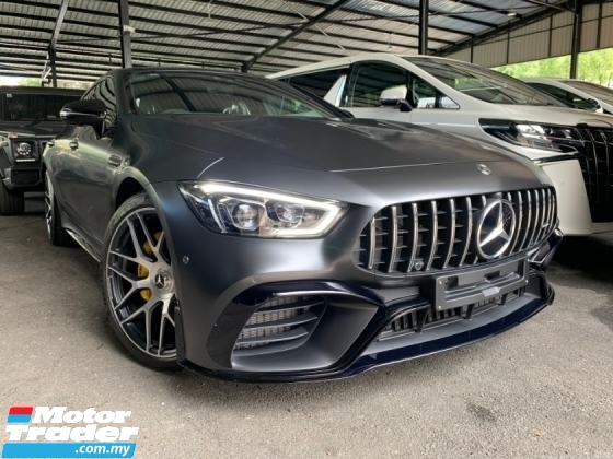 2019 MERCEDES-BENZ AMG GTS (GT63 S EDITION 1) LIMITED EDITION V8 TURBO AMG UNREG