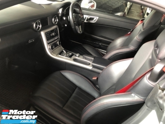 2016 MERCEDES-BENZ SLK Unreg Mercedes Benz SLK200 2.0 Turbo AMG Sport Convetible Top Paddle Shift SST Deduction