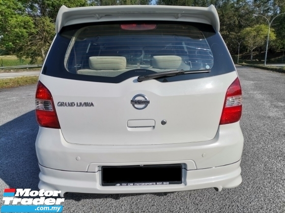2008 NISSAN LIVINA 1.6 Luxury MPV (A) SPORT RIMS REVERSE CAMERA WELL MAINTAIN
