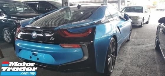 2017 BMW I8 1.5CC UNREGIST FULLSPEC.GENUINE LOW MILEAGE.360 CAMERA.HARMON KARDON.LED LIGHT.HEAD UP DISPLAY N ETC