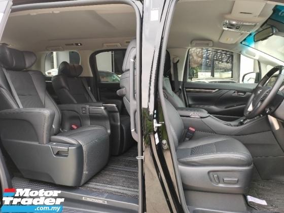2018 TOYOTA ALPHARD 3.5 SAC Pre Crash LTA Leather Unregister Offer