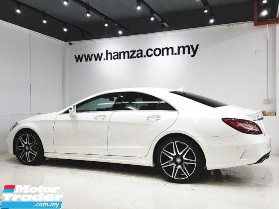 2016 MERCEDES-BENZ CLS-CLASS CLS400 3.5 AMG SUNROOF P/BOOT