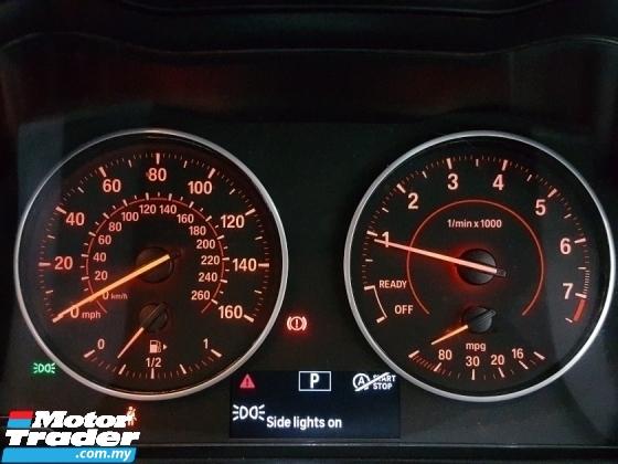 2015 BMW 2 SERIES 218i M SPORT 1.5 UNREG CLEAR STOCK