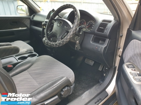 2002 HONDA CR-V 2.0 4WD FACELIFT SUV KING LOW MILEAGE MUST VIEW