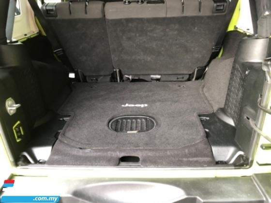 2017 JEEP WRANGLER Unreg Jeep Wrangler 3.6 V6 Sahara Engine Auto 4WD Tiptronic Gear Nice Car
