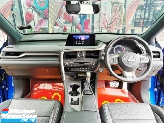 2017 LEXUS RX Lexus RX200T RX200 F SPORT CBU UNDER LEXUS WRRANTY