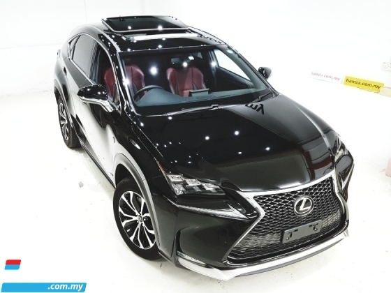 2015 LEXUS NX 200T F-SPORT FULL SPEC P/ROOF UNREG