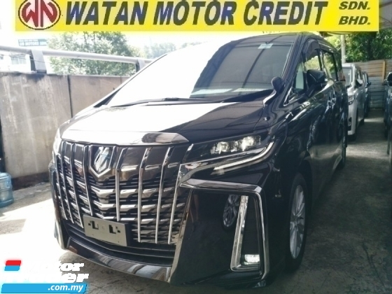 2018 TOYOTA ALPHARD 2.5 SA UNREG.LESS 50 SST.7 SEATS.3 POWER DRS N BOOT.TRUE YEAR CAN PROVE.360 CAMERA.SUNROOF.P CRASH