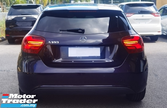 2016 MERCEDES-BENZ A-CLASS 2016 MERCEDES BENZ A180 SE 1.6 TURBO PANAROMIC ROOF JAPAN SPEC CAR SELLING PRICE ONLY  RM 123000.00