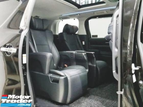 2020 TOYOTA ALPHARD 2020 Toyota ALPHARD 2.5SC SROOF BSM DIM UNREG