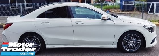 2017 MERCEDES-BENZ CLA 2017 MERCEDES BENZ CLA180 1.6 AMG FACELIFT SPORT DYNAMIC JAPAN SPEC CAR SELLING PRICE ONLY RM 179000