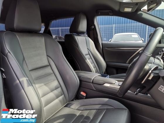 2017 LEXUS RX 200T F Sport HUD PCS LKA BSM Unreg Sale RX200T