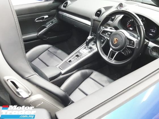 2018 PORSCHE 718 2018 Porsche BOXSTER 718 PDK, SPORT CHRONO, BOSE