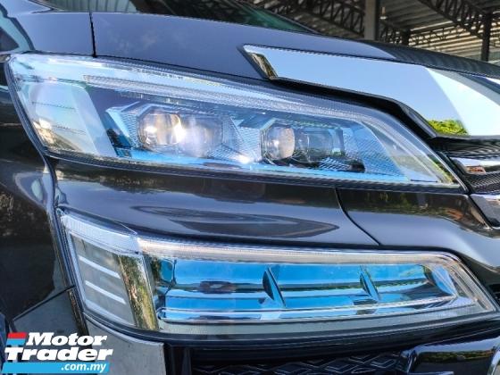 2018 TOYOTA VELLFIRE 2.5 ZG Sun Roof PreCrash LTA Leather Power Boot Unregister Offer