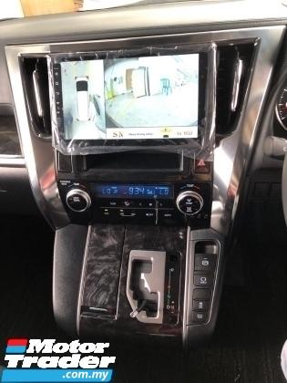 2018 TOYOTA VELLFIRE Unreg Toyota Vellfire Z 2.5 Facelift 360view 7seats PowerBoot Push Start 7G LED SST Deduction