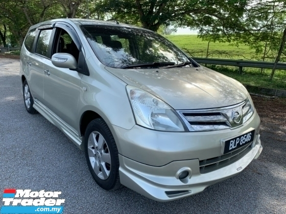 2013 NISSAN GRAND LIVINA IMPUL 1.8L (A) 1 Owner Only Full Set Bodykit