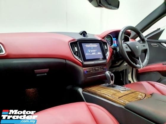 2017 MASERATI GHIBLI Maserati GHIBLI 3.0 V6 TURBO ROSSO INTERIOR