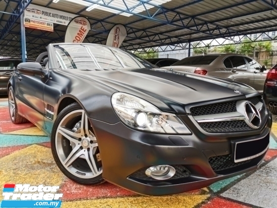 2010 MERCEDES-BENZ SL Mercedes Benz SL350 NIGHT LIMITED EDITION WARRANTY