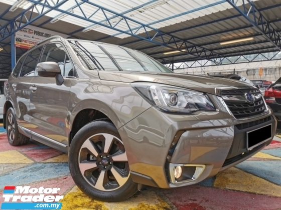 2019 SUBARU FORESTER Subaru FORESTER 2.0I-P NEW FACELIFT HI-SPEC