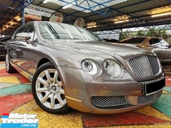 2007 BENTLEY CONTINENTAL Bentley Continental FLYING SPUR 6.0 MULLINER SROOF