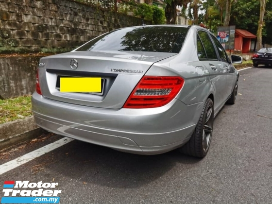 2008 MERCEDES-BENZ C-CLASS C 180 FULL SPEC ONE OWNER GOOD CONDITION