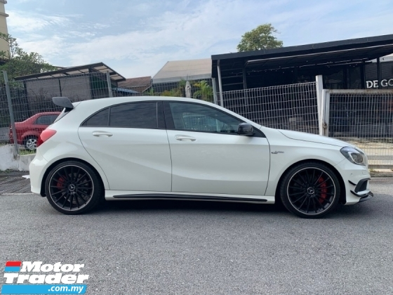2014 MERCEDES-BENZ A45 Full Load Sunroof IPE.Exhaust tuned 390hp Unreg