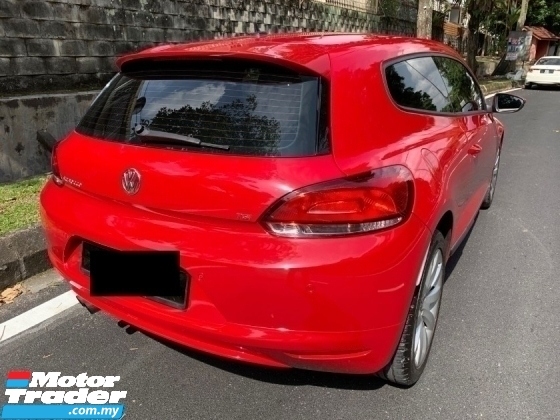 2013 VOLKSWAGEN SCIROCCO TSI (A) FULL SPEC 1 MALAY OWNER