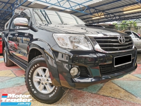 2013 TOYOTA HILUX Toyota HILUX 2.5 G VNT 4WD LEATHER RevCAM WARRANTY