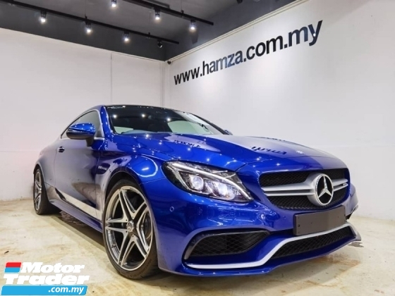 2016 MERCEDES-BENZ C-CLASS 2016 Mercedes Benz c63 AMG coupe unreg