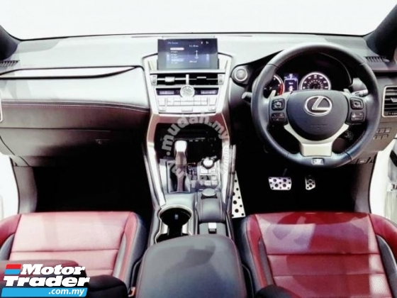 2016 LEXUS NX 200T F-SPORT FULL SPEC P/ROOF UNREG