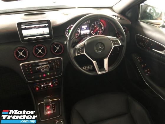 2015 MERCEDES-BENZ A45 AMG 4MATIC 2.0 Turbo 360hp Keyless Push Start Pre Crash 2 Memory Seat Paddle Shift Blind Spot Unreg