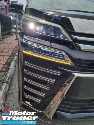 2019 TOYOTA VELLFIRE 2.5 ZG PILOT SEAT FDM BSM 3LED SUNROOF RSA UNREG