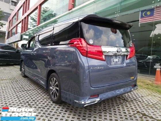 2017 TOYOTA ALPHARD 2.5 SC G POWER BOOT PCRASH DISTRONIC UNREG