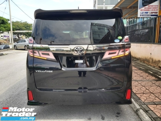 2018 TOYOTA ALPHARD 2.5 SC FDM PILOT SEAT FULL LEATHER 3 LED UNREG