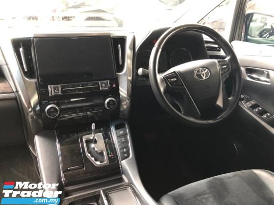2015 TOYOTA ALPHARD 2.5 SC Edition Full Alpine Player Set 360 Surround Camera Pilot Memory Seat Full LED 9 Air Bags